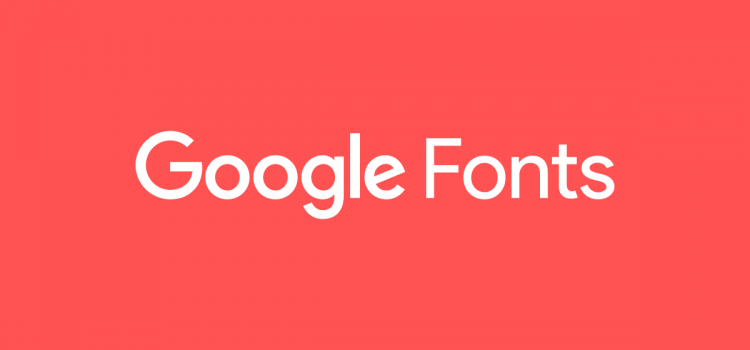 Using Google Fonts